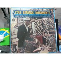 Lp Nat King Cole - Cole Español Novamente