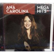 Cd Ana Carolina - Mega Hits (original E Lacrado) Sony Music