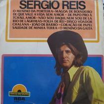 Lp - Sergio Reis - Disco De Ouro - Rca - Vinil Raro