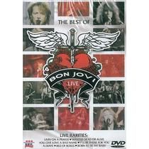 Dvd Bon Jovi Raríssimo! = The Best Of Live Raridade Lacrado!
