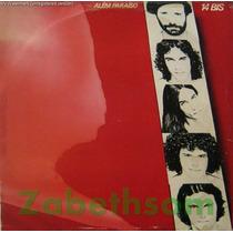 14 Bis Alem Paraiso Lp Vinil Disco Emi-odeon 1982 C/encarte
