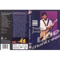Stanley Jordan Live Montreal Dvd Lacrado Original