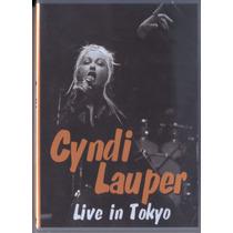 Cyndi Lauper Live In Tokyo Dvd Raro Original Novo Lacrado !!