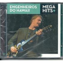 Cd-engenheiros Do Hawaii-mega Hitsl-cd Novo E Lacrado