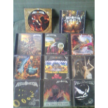 Helloween - Coleção Com 11 Albums Da Discografia ( 13 Cd )