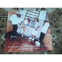 Lp Mariah Carey Single One Sweet Day Remixes Importado Boyz