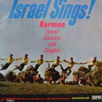 Lp - Israel Sings! - Karmon - Israeli Dancers Vinil Raro
