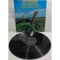 Hot Country Lp Nacional Usado Vários Artistas 1978