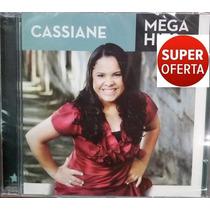 Cd Cassiane - Mega Hits (original E Lacrado) Sony Music 2014