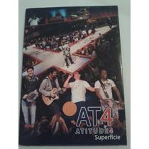 Dvd E Cd Promo Atitude 4 - Superfície Rarissimo