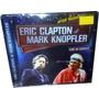 Cd Eric Clapton & Mark Knopfler Lacrado! = Live Usa 1988