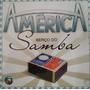 Cd Lacrado Novela America Berço Do Samba 2005