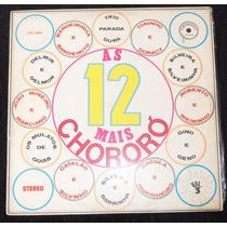 As 12 Mais Do Chororó-lp 1978(várias Duplas)