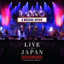 Cd/dvd Il Divo Musical Affair Live In Japan [import] Lacrado