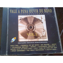 Cd-vale A Pena Ovir De Novo Vol-1 Frete R$ 6,00