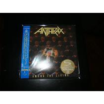 Anthrax-among The Living- Em Mini Lp Shm Japonês C/ Obi!