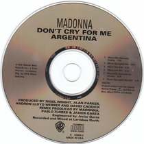 Madonna Cd Single Don