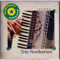Cd Trio Nordestino - Brasil Popular - Novo***
