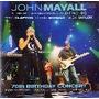 Cd John Mayall 70th Birthday Concert 2 Cds - Eric Clapton