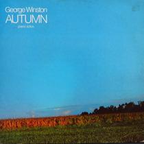 Lp - George Winston - Autumn - Piano Solos - Vinil Raro