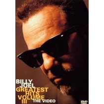 Dvd-billy Joel-greatest Hits-vol.3-the Video-em Otimo Estado