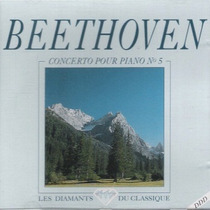 Cd / Beethoven = Concerto P. Piano 5, Symphonie 2 (import