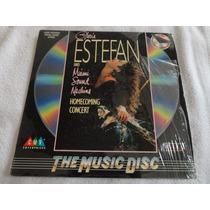 Laser Disc Gloria Estefan - Homecoming Concert