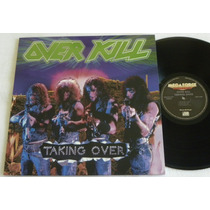 Overkill Taking Over Lp 180 Grs Audiophile Slayer Metallica