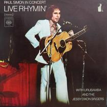 Lp - Paul Simon In Concert - Live Rhymin´ - Vinil Raro