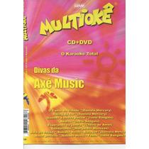 Dvd Original Multiokê Divas Da Axé Music (cx 48