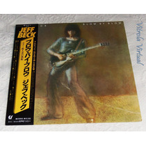 Lp Jeff Beck Blow By Blow 1976 Epic Japonês + Poster E Obi