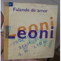 Cd Single Leoni / Falando De Amor / Raro / Frete Gratis