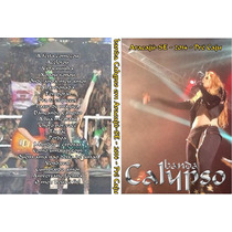 Dvd Banda Calypso No Pré Caju - Aracaju- Se 2014