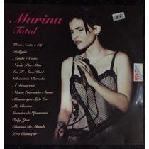 Lp Marina Lima Marina Total -1994 Impecável
