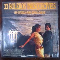 Lp Vinil 33 Boleros Inesqueciveis