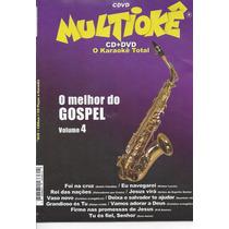 Dvd Original Multiokê O Melhor Do Gospel Vl.4