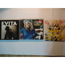 Lote 3 Cd Da Madonna - Evita / Music / Especial Remix Sp