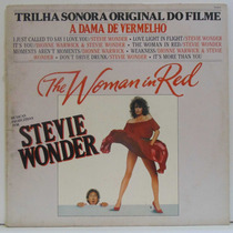 Lp A Dama De Vermelho (the Woman In Red) - Stevie Wonder - 1