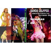 Dvd Banda Calypso Em Arraia Da Capita 2007