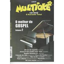 Dvd Original Multiokê O Melhor Do Gospel Vl.2
