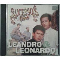 Cd Duplo Leandro E Leonardo - Sucessos De Ouro