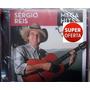 Cd Sérgio Reis - Mega Hits (lacrado) Sony Music 2014