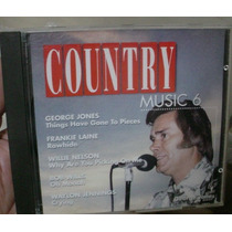 Cd Country Music 6 / Frete Gratis