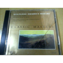 Cd Classic Masters Wolfgang Amadeus Mozart
