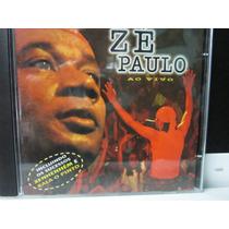 Zé Paulo, Cd Zé Paulo Ao Vivo, 1998