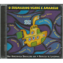 Cd O Submarino Verde E Amarelo - 2000- Homenagem Aos Beatles