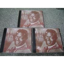 Cd - Nat King Cole Unforgettable 5 Cds Com Grandes Sucessos