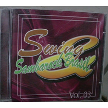 Cd Swing Sambarock Brasil 3 / Frete Gratis
