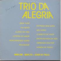 Lp Trio Da Alegria - Marlone, Marlito E Odair De Paula