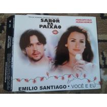 Cd Single Emilio Santiago Voce E Eu - Sabor Da Paixão Filme